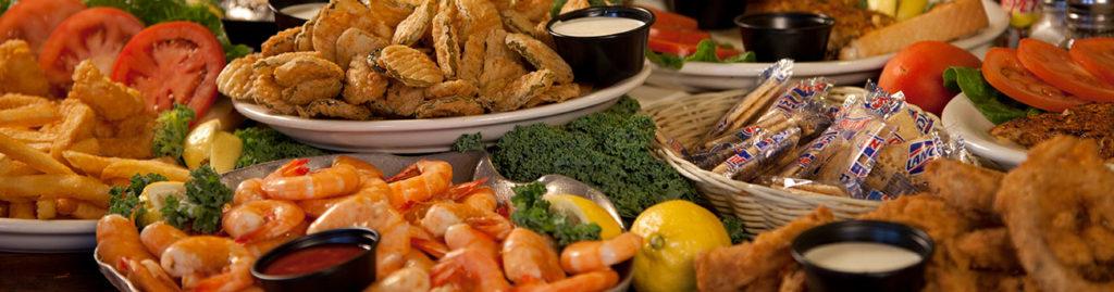Restaurant Menu Bubba S Seafood House